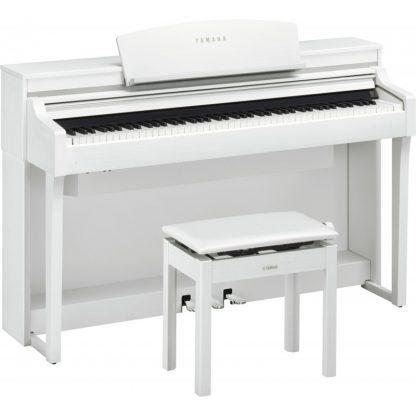 Цифровое пианино YAMAHA CSP-170WH 2