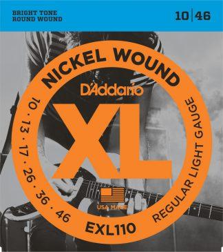 Струны D`ADDARIO EXL110