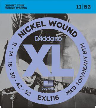 Струны D`ADDARIO EXL116