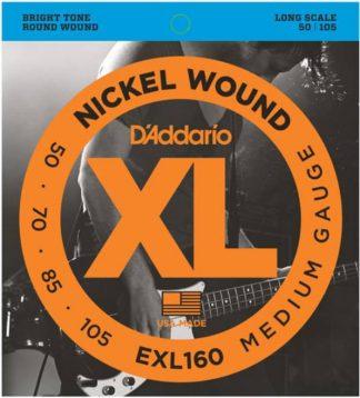 Струны D`ADDARIO EXL160