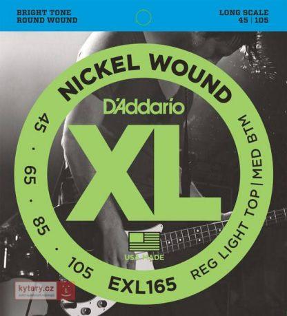 Струны D`ADDARIO EXL165