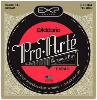 Струны D-ADDARIO EXP45